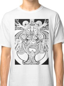 Odin in deep trance Classic T-Shirt