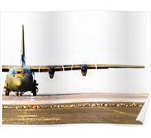 Royal Air Force C-130 Hercules Poster