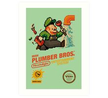 irish plumber Art Print