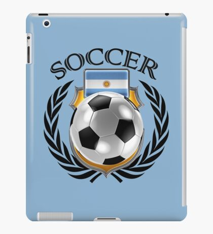Argentina Soccer 2016 Fan Gear iPad Case/Skin