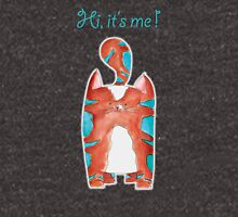 Hi, it's me ! Kat - Cat - Kitten - Illustratie - Illustration Unisex T-Shirt