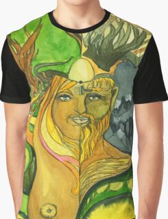 Odin and Freya  Graphic T-Shirt