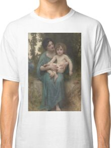 William Bouguereau  - The Younger Brother Classic T-Shirt