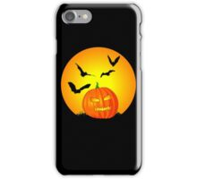 Halloween Moon Jack-O-Lantern iPhone Case/Skin