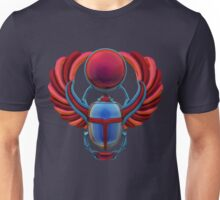 Colorful Egyptian Scarab Unisex T-Shirt