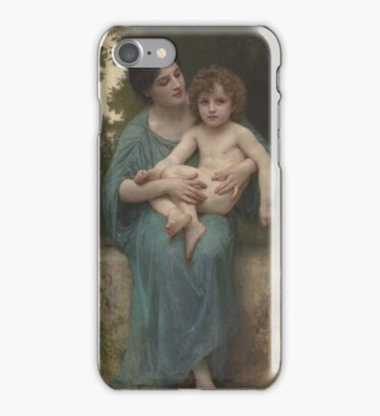 William Bouguereau  - The Younger Brother iPhone Case/Skin