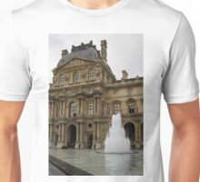 Of Pale Pastels and Palaces - the Louvre Courtyard in Paris Unisex T-Shirt