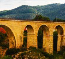 Gata de Gorgos bridge Sticker