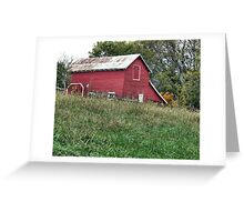 """""""Red Barn""""... prints and products Greeting Card"""