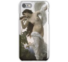 William Bouguereau  - L Aurore Dawn 1881 iPhone Case/Skin