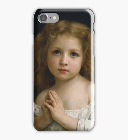 William Bouguereau  - Little Girl  iPhone Case/Skin