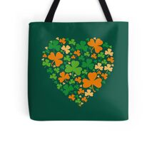Lucky Heart Clovers #04 Tote Bag