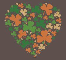 Lucky Heart Clovers #04 One Piece - Short Sleeve