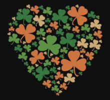 Lucky Heart Clovers #04 Baby Tee