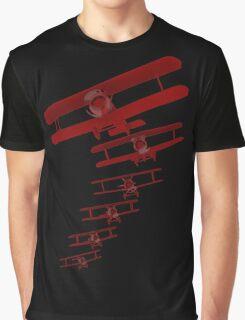 Retro Biplane Graphic Graphic T-Shirt