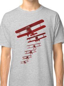 Retro Biplane Graphic Classic T-Shirt