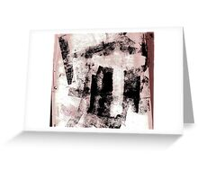 Grey T graphic  Greeting Card