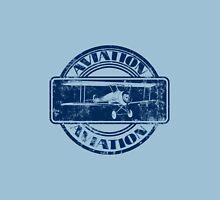 Vintage Aviation Badge Unisex T-Shirt