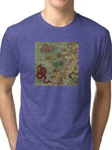 Historic Map Tri-blend T-Shirt