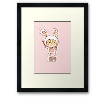 Cottontail Teemo  Framed Print