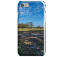 Looking north from Studdridge Farm,Buckinghamshire iPhone Case/Skin