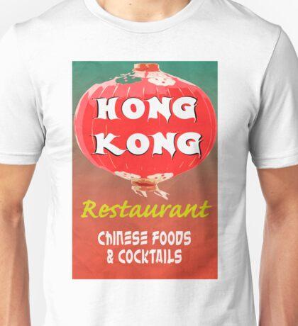 Vintage Chinese Restaurant Poster Unisex T-Shirt