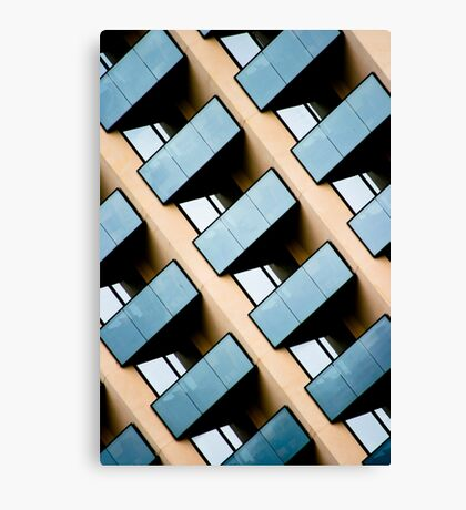 Rectangles and Reflection Canvas Print