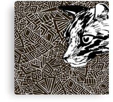 Lynx. Canvas Print