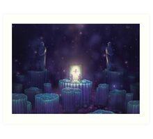 Elemental Star Chamber (46 Left!) Art Print