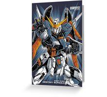 Destiny Gundam Greeting Card