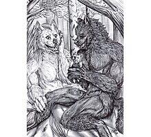 Werewolf courtship Photographic Print
