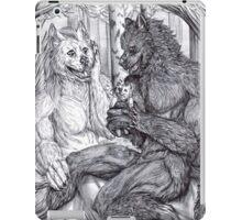 Werewolf courtship iPad Case/Skin