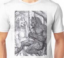 Werewolf courtship Unisex T-Shirt