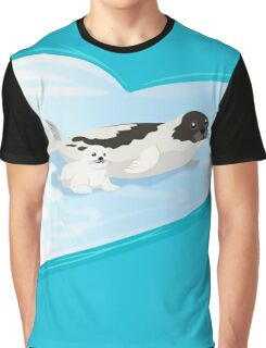 LOVE: Arctic Seals Graphic T-Shirt