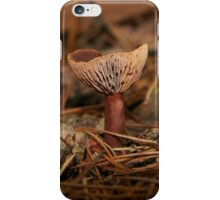 Pink Wax cap Fungi  iPhone Case/Skin