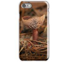 Pink Wax cap Fungi  iPhone Case/Skin
