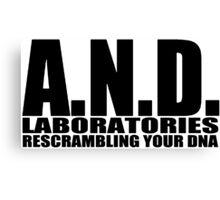 AND Laboratories Canvas Print