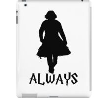 Snape and Lily Always 2 iPad Case/Skin