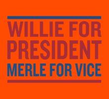 Willie for President Kids Tee