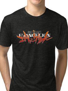 Neon Genesis Evangelion - Anime Logo Tri-blend T-Shirt