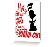 Stand Out Reading America Day 2016 Greeting Card