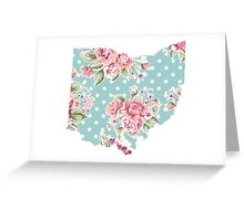 floral state Greeting Card