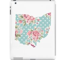 floral state iPad Case/Skin