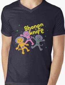 Shonen Knife Mens V-Neck T-Shirt