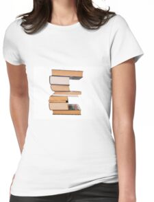 Alphabet e Womens Fitted T-Shirt