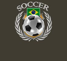 Brazil Soccer 2016 Fan Gear Unisex T-Shirt