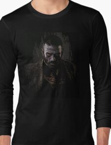 Murphy portrait - z nation Long Sleeve T-Shirt