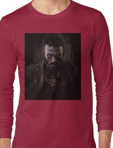 Murphy portrait - z nation Long Sleeve T-Shirt
