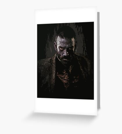 Murphy portrait - z nation Greeting Card
