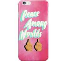 Peace Among Worlds iPhone Case/Skin